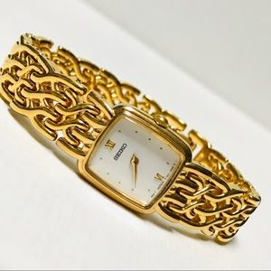 Seiko Gold Plated Women's Watch
